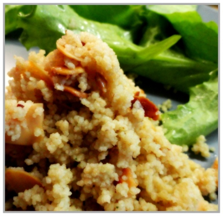Almond and Lemon Couscous